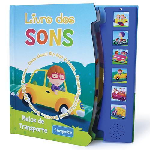 """Imagem da Coleção """"Livro dos Sons"""" - Meios de Transporte"""