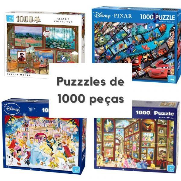 Puzzles de 1000 peças