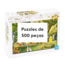 Puzzles 500 peças