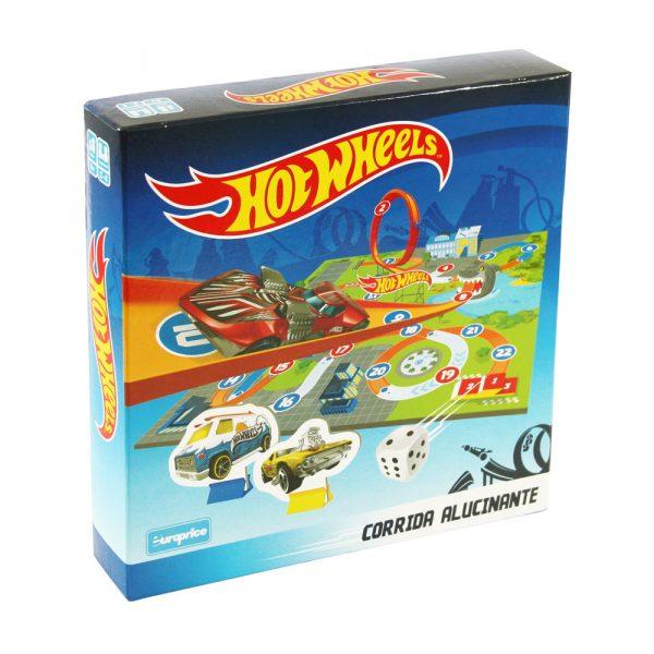 Jogo de tabuleiro - Hot Wheels - Corrida Alucinante