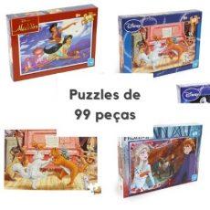 Puzzles de 99 peças com temas variados