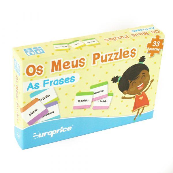 Os meus puzzles - As palavras